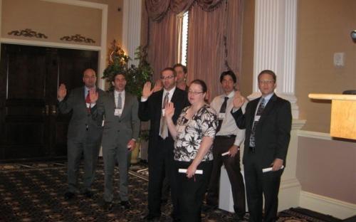 2012 New Designees take the pledge.